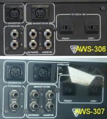 Porównanie gniazd AWS-306 vs. AWS-307 zdjęcie