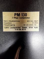 Cath PM130 etykieta