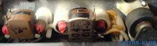 Głowice magnetofonów kasetowych - standardowa (w środku)