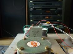 Kondensator od zwrotnicy.